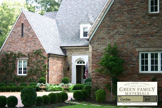 Reclaimed Brick Green Family Materials